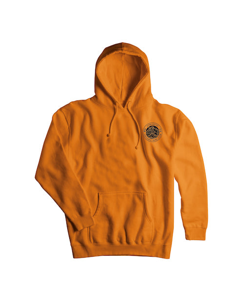 2021 Airblaster Volcanic Surf Club Pullover Hoody in Orange