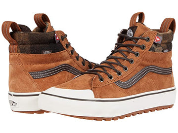 2021 Vans Sk8 Hi MTE 2.0 DX in Glazed Ginger and Marshmallow