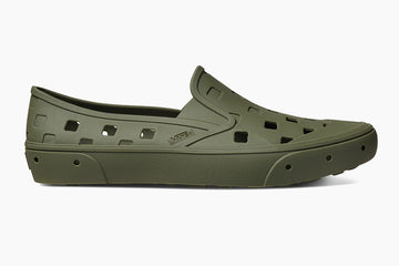 Vans Trek Slip-On Shoe in green