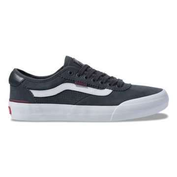Vans Chima Ferguson Pro 2 Skate Shoe in Ebony Port Royal
