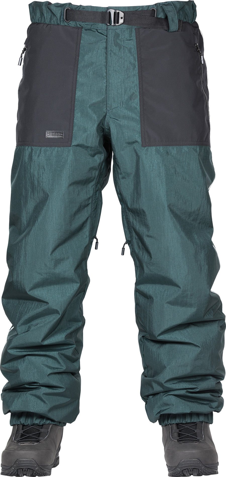 2021 L1 Ventura Snow Pant in Emerald and Black
