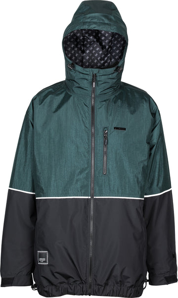 2021 L1 Ventura Snow  Jacket in Emerald and Black