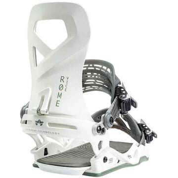 2020 Rome Vice Snowboard Bindings in White Sage