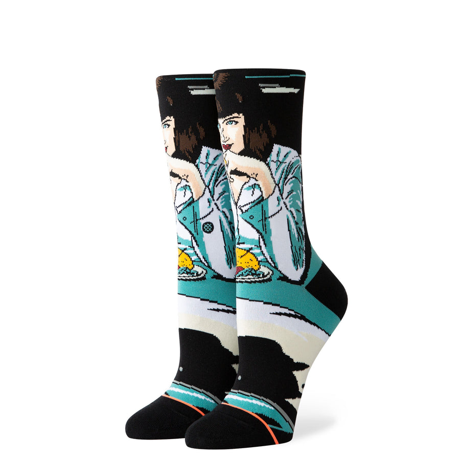 Stance Mia Booth Sock in Teal