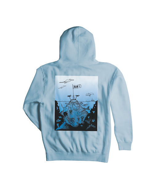 2021 Airblaster Warbington Pullover Hoody in Blue