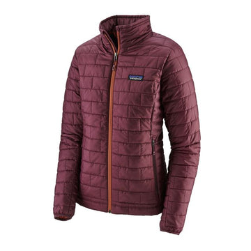 2020 Patagonia Womens Nano Puff Snow Jacket in Light Balsalmic