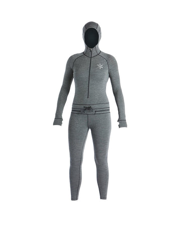 2020 Airblaster Women's Merino Wool Ninja Suit in Black