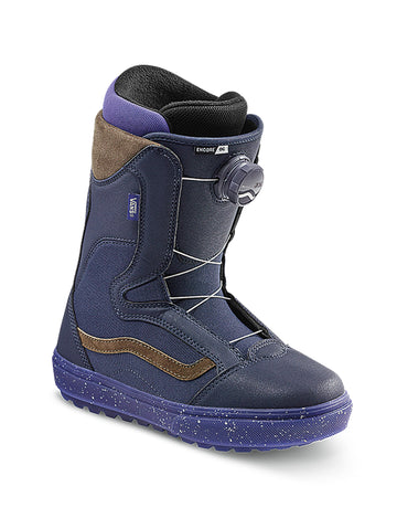 2021 Vans Encore OG Womens Snowboard Boot in Purple and Blue