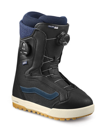 2022 Vans Encore Pro Snowboard Boot in Black and Navy
