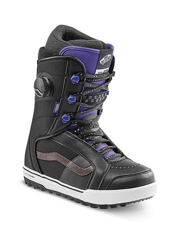 2021 Vans Ferra Pro Womens Snowboard Boot in Black and Purple