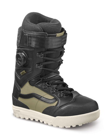 2022 Vans Luna Ventana Pro Snowboard Boot in Black and Timberwolf