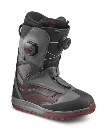 2022 Vans Viaje Snowboard Boot in Asphalt and Pomegranate