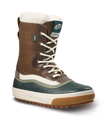 2022 Vans Standard Snow Mte Boot in Dachshund and Jungle Green