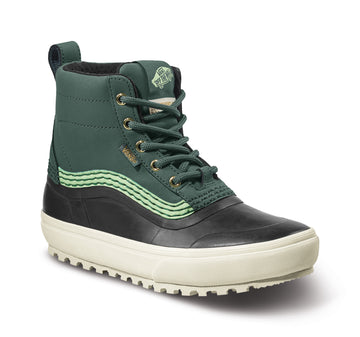 2022 Vans Standard Mid Snow Mte Boot in Jungle Green and Marshmallow