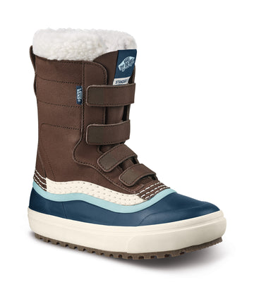 2022 Vans Standard V Snow Mte Boot in Demitasse and Navy