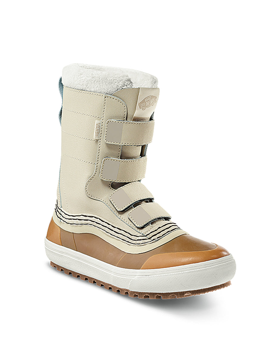 2021 Vans Standard V MTE Snow Boot in Oatmeal and Marshmallow White