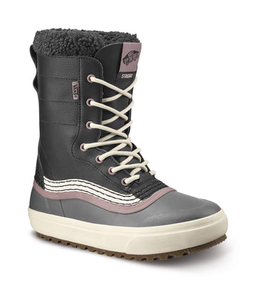 2022 Vans Standard Snow Mte Boot in Black and Purple Dove
