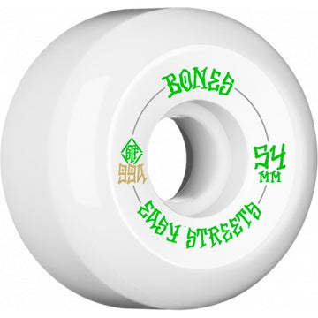 Bones Easy Streets 54mm Skate Wheels in 99a Street Formula v5