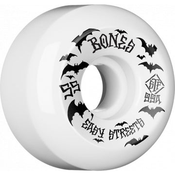 Bones Bats 55mm 99a Easy Streets V5 Skate Wheels
