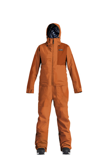 2022 Airblaster Womens Insulated Freedom Snow Suit in Copper