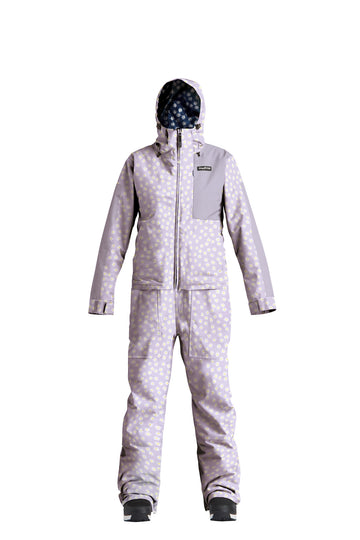 2022 Airblaster Womens Insulated Freedom Snow Suit in Lavender Daisy