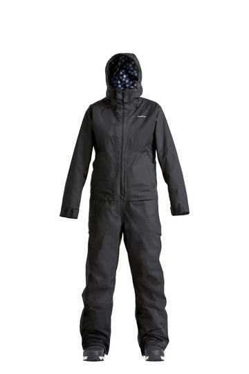 2022 Airblaster Womens Stretch Freedom Snow Suit in Black