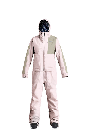 2022 Airblaster Womens Stretch Freedom Snow Suit in Blush