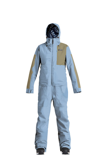 2022 Airblaster Womens Stretch Freedom Snow Suit in Dark Sky