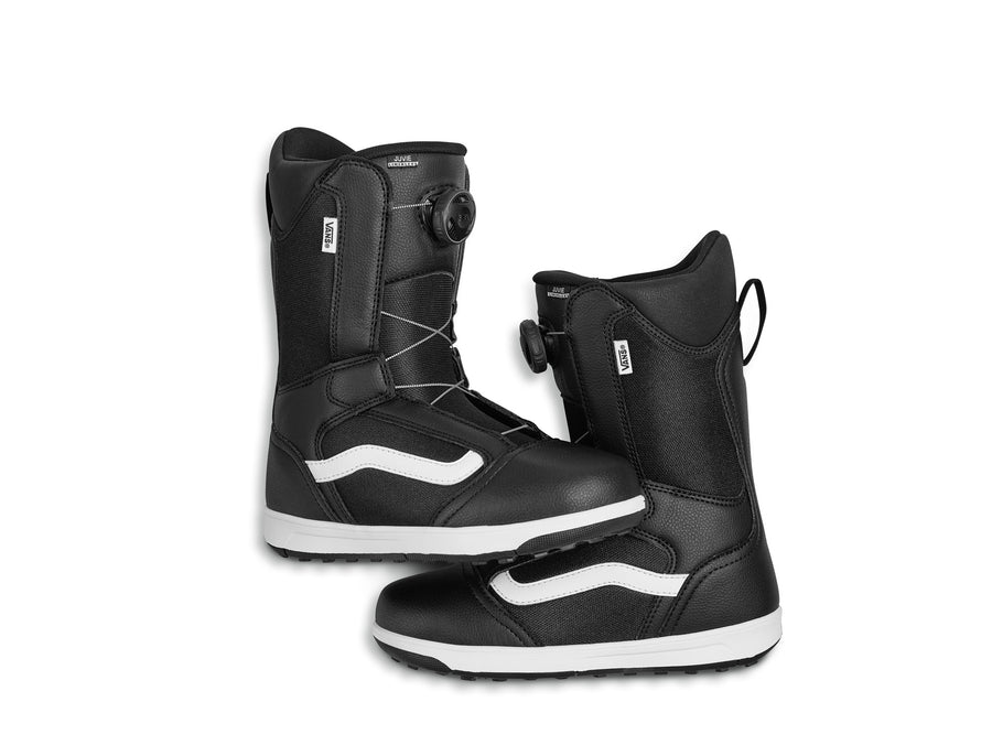 2021 Vans Juvie Linerless Snowboard Boot in Black and White