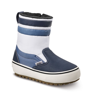 2022 Vans Slip-On Snow Boot in Navy and White