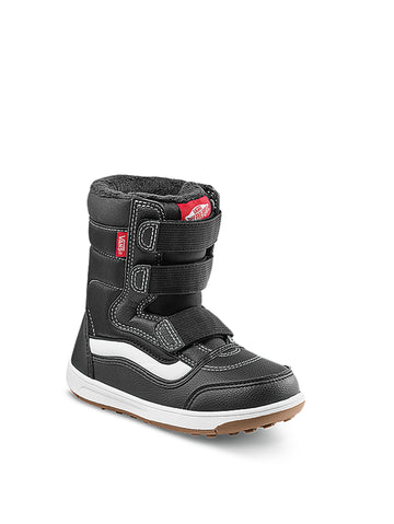 2021 Vans Youth Snow Cruiser V MTE Snow Boot in Black and White