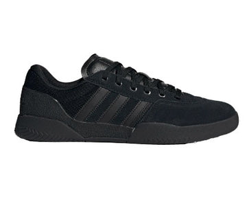 Adidas City Cup Shoe in Core Black, Core Black, and Core Black