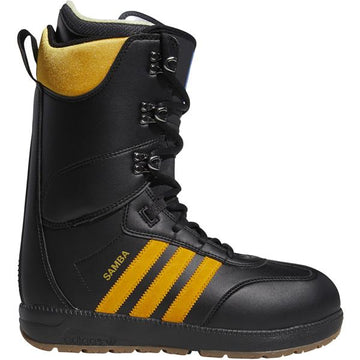 2020 Adidas Samba Snowboard Boot in Core Black Collegiate Gold and Gum
