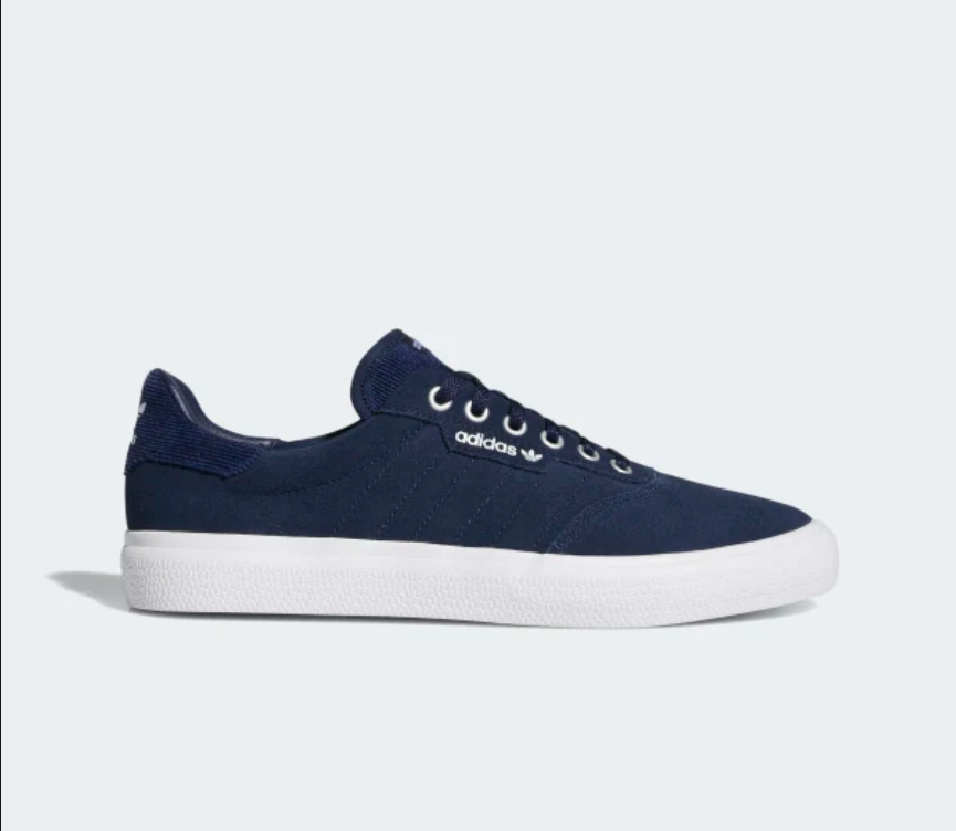 Adidas 3MC Shoe in Collegiate Navy and White