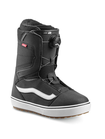 2020 Vans Aura OG Mens Snowboard Boots in Black and White