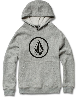 Volcom Stone Pullover Sweatshirt in Grey