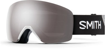 2020 Smith Skyline  Snow Goggle in Black frames with Chromapop Sun Platinum Mirror Lens