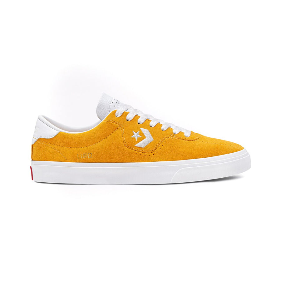 Converse Louie Lopez Pro in Sunflower Gold and White