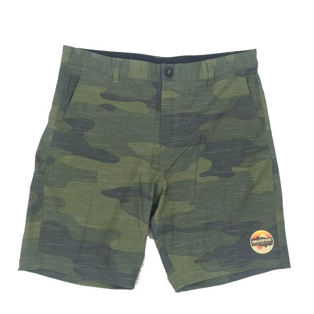 Milosport Hybrid Walking and Swim Short in Camo