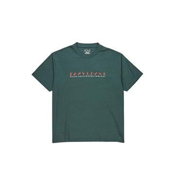 Polar Skate Co Cartwheel T Shirt in Grey and Teal