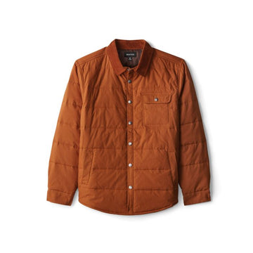 Brixton Cass Jacket in Copper