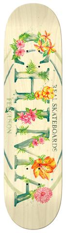 Real Chima Blossom Oval Skate Deck in 8.4