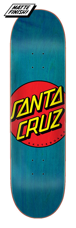 Santa Cruz Classic Dot Skate Deck in 8.5