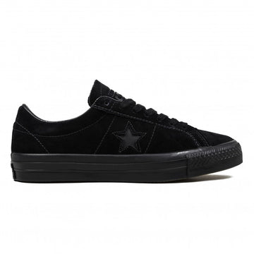 Converse One Star Pro Ox in Black Black