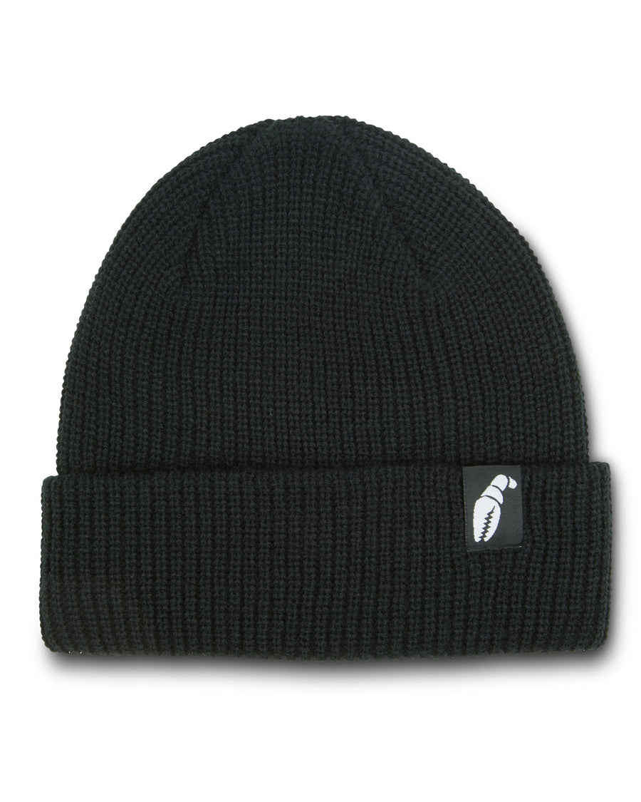 2020 Crab Grab Claw Label Beanie in Black