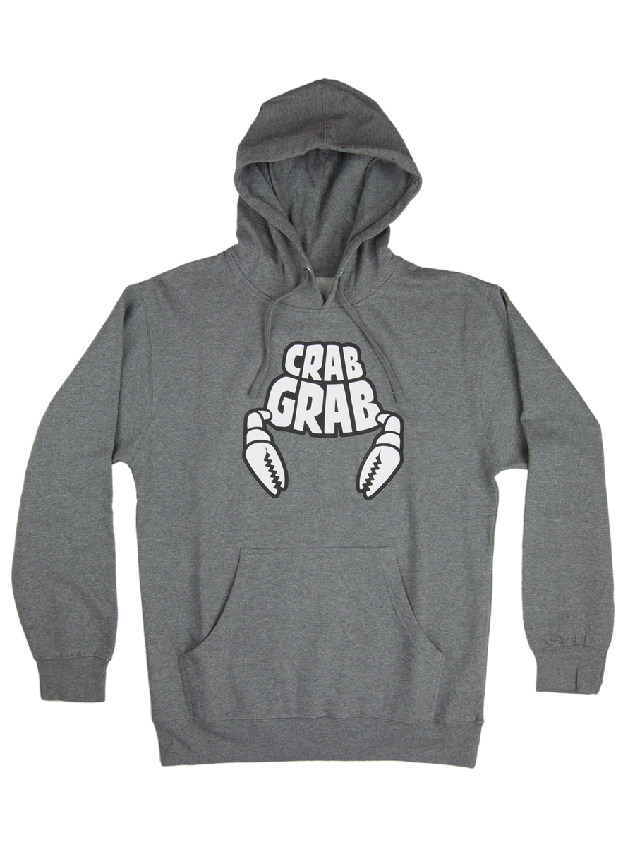 2020 Crab Grab Classic Hoody in Grey