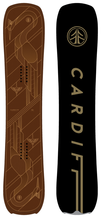 2021 Cardiff Goat Pro Carbon Snowboard