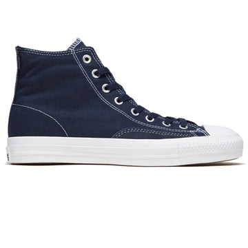 Converse CTAS Hi Pro Skate Shoe in Obsidian and White