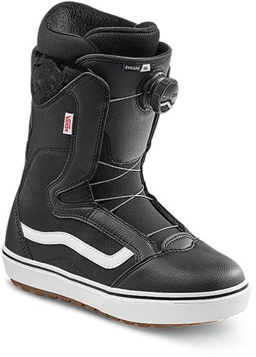 2022 Vans Encore Og Snowboard Boot in Black and White
