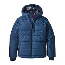 2019 Patagonia Girls Pine Grove Jacket in Stone Blue M